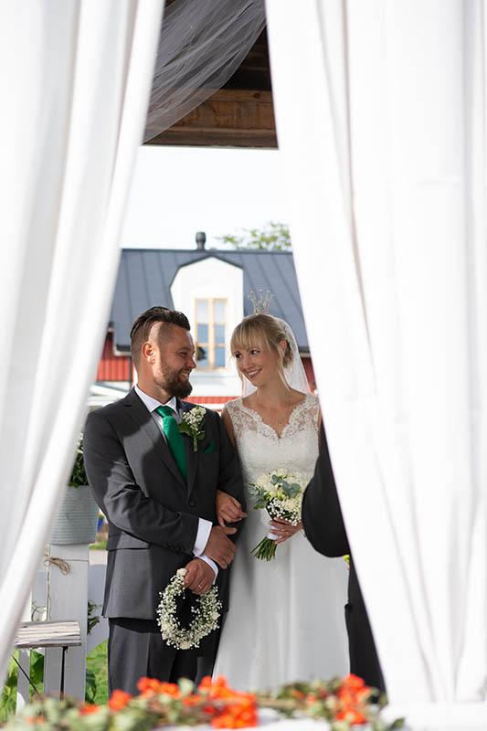 Wedding ceremony in Hotel Nestor lusthouse