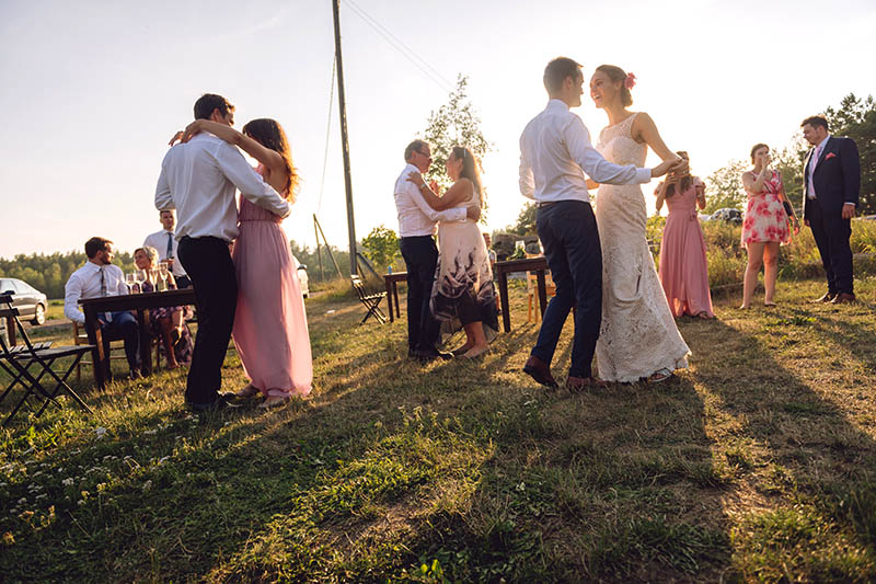 A wedding in Hotel Nestor terrace