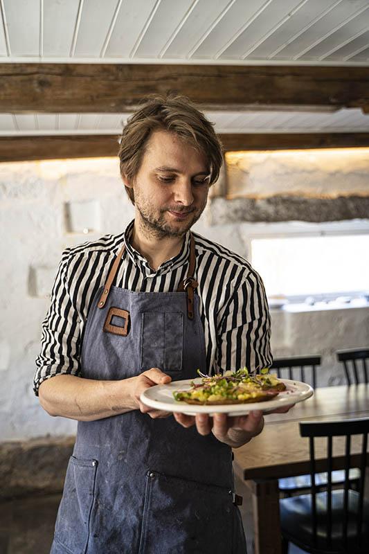 Willam Hellgren gastronomy artist